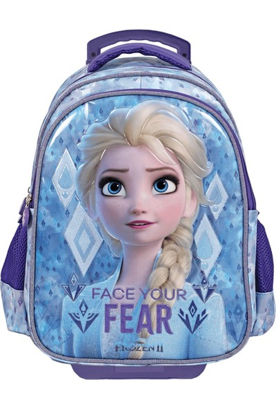 Disney Frozen Face Your Fear Çekçekli İlkokul Çantası 5124