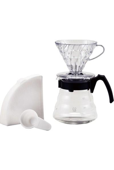 Hario V60 02 Craft Coffee Maker Dripper Seti
