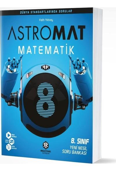 İrrasyonel Yayınları 8. Sınıf Astromat Matematik Yeni Nesil Soru Bankası