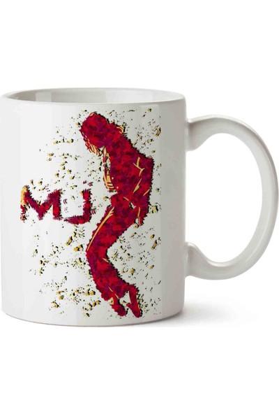 Art Hediye Michael Jackson Mj Kupa Bardak