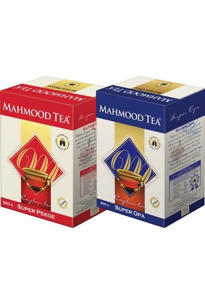 Mahmood Tea Super Opa ve Super Pekoe Seylan Çayı 800 gr x 2 Adet