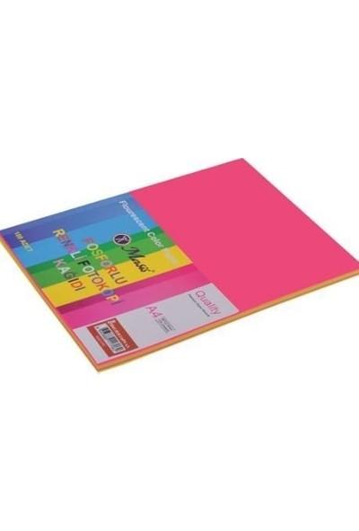 Masis A4 Fosforlu Renkli Fotokopi Kağıdı 100'lü