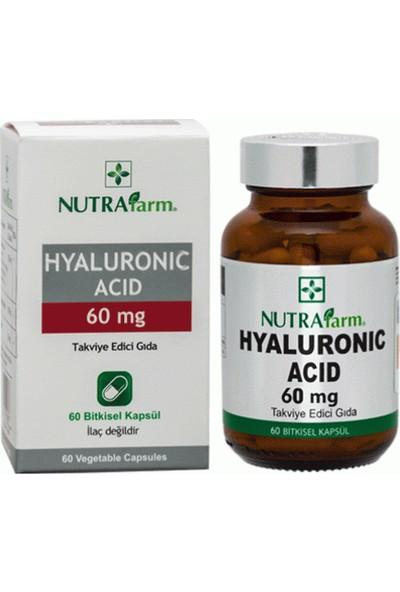 Nutrafarm Hyaluronic Acid 60 Mg