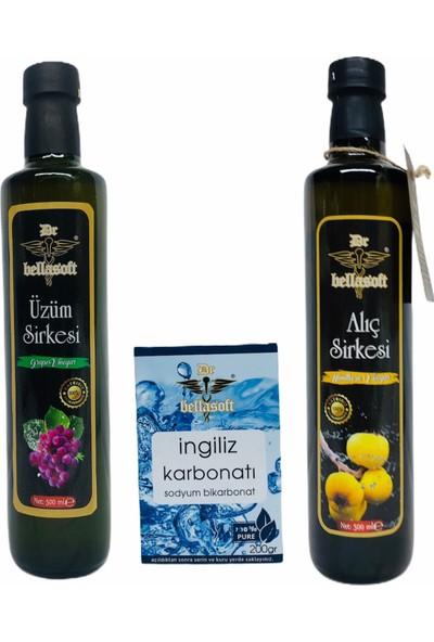 Dr Bellasoft 2li Sirke Seti 500 ml + Ingiliz Karbonatı