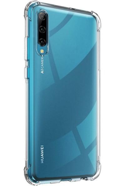 CaseUp Huawei P Smart Pro Titan Crystal Kılıf Şeffaf