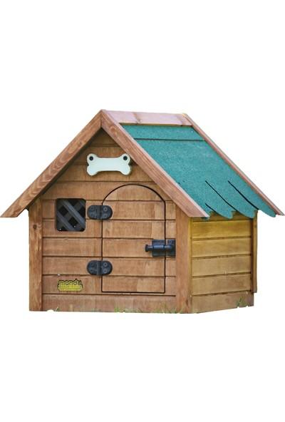 Mandu Isı Yalıtımlı Ahşap Kedi-Köpek Kulübesi S