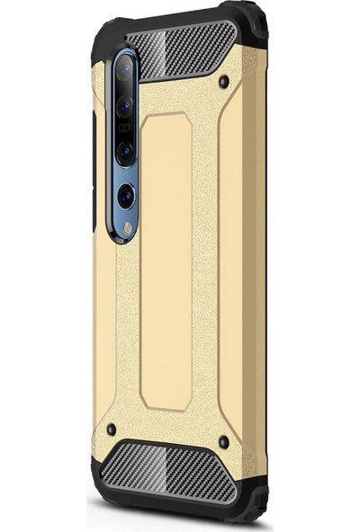 CaseUp Xiaomi Mi 10 Pro Kılıf Tank Gold