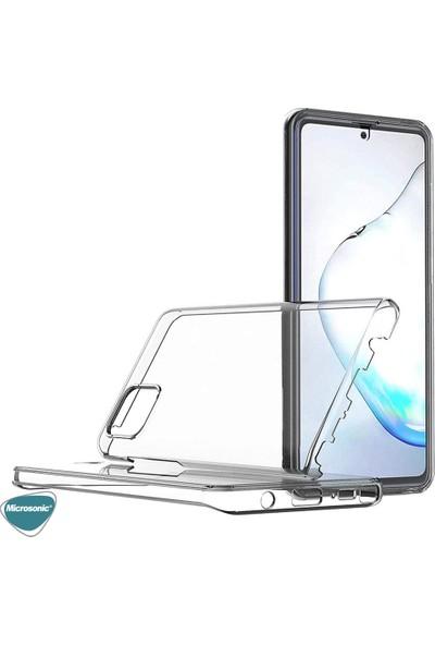 Microsonic Samsung Galaxy Note 10 Lite Kılıf 6 Tarafı Full Koruma 360 Clear Soft Şeffaf