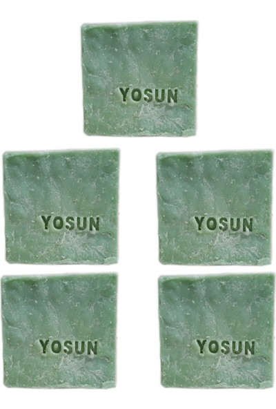 Pakel Yosun Sabunu 155 gr 5 Li Paket