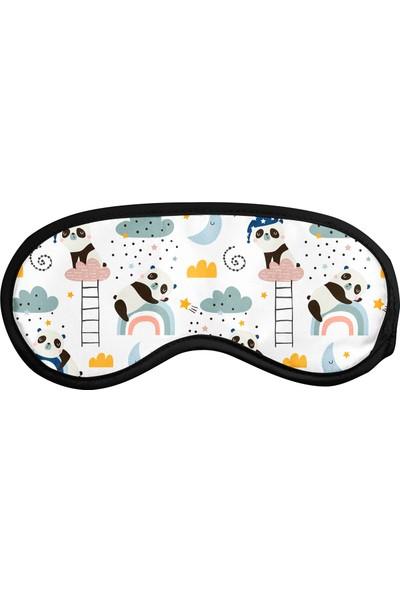 Cpart Panda Desenli Uyku Göz Bandı