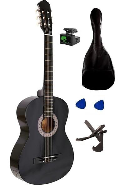 Arriva Tam Boy 4/4 Klasik Gitar Seti 39'' Siyah