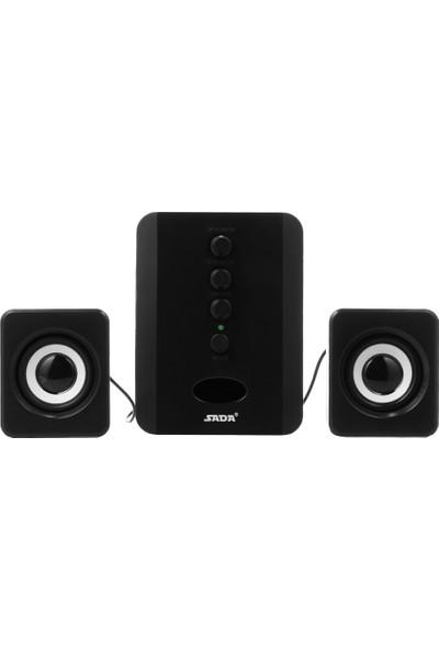 Sada D-202 USB Kablolu Bluetooth Hoparlör Seti Bilgisayar (Yurt Dışından)