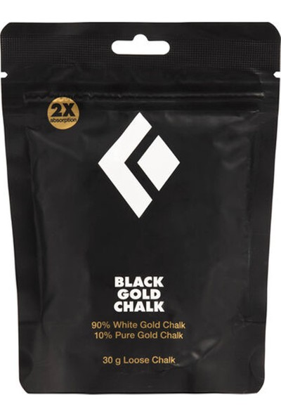 Black Dıamond 30 G Black Gold Loose Chalk Outdoor Magnezyum Tozu Beyaz