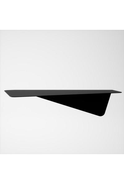 M&c Concept Olivia 3'lü Duvar Rafı - Siyah