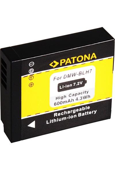 Patona Panasonic Dmc-Gm1 DMW-BLH7E Gm1 BLH7E İçin Dmw-Blh7 Batarya