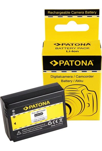 Patona Samsung NX200 NX-200 BP1030 İçin BP-1030 Batarya