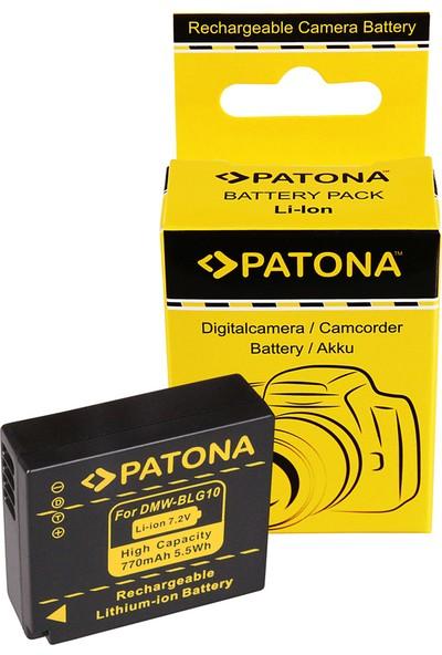 Patona Panasonic Dmc-Gf6 DMW-BLG10 DMW-BLG10E CS-BLG10MC İçin DMW-BLG10 Batarya