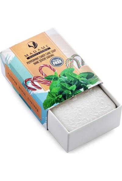 Madame Beauty Doğal Pippermint Candy Cane Sabunu 75 gr