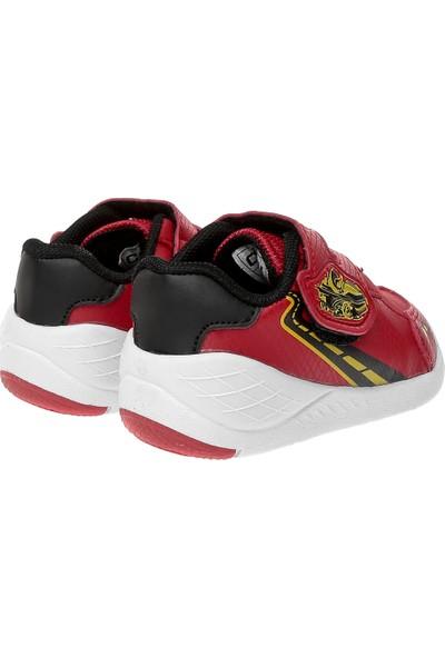 Cool Kız Çocuk Spor Ayakkabı 19 - K18 Cool Bebe Kırmızı - Siyah 21 - 25