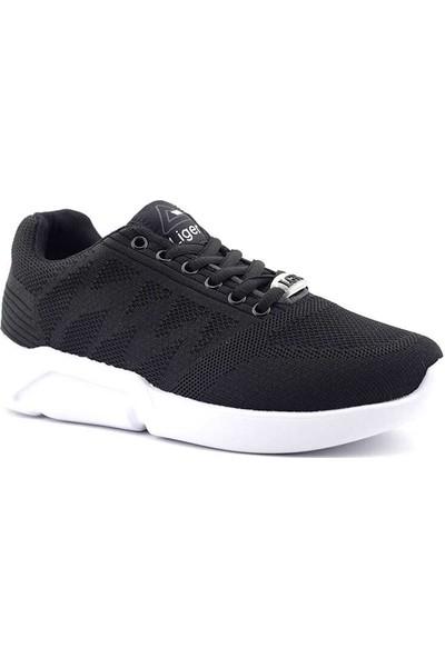Liger Poldi Spor Ayakkabı-Siyah Beyaz