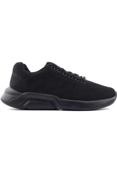 Liger Poldi Spor Ayakkabı-Siyah
