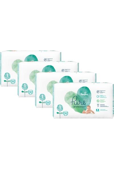 Prima Pure Bebek Bezi 1 Beden 140 Adet Aylık Fırsat Paketi