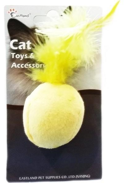 Eastland 4.5 cm Karışık Renkli Kedi Otlu Tüylü Top