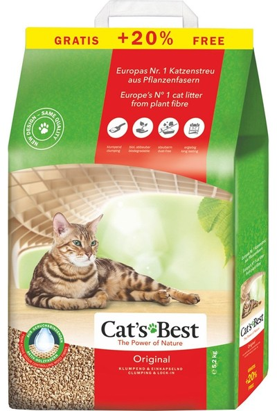 Cats Best Original Kedi Kumu 12 Lt