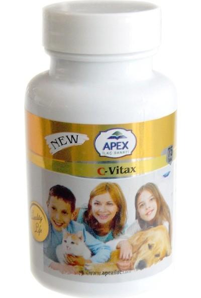 Apex Vitax Kedi Köpek C Vitamini 75 Tablet