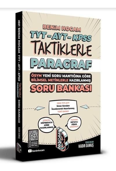 Benim Hocam 2021 TYT-AYT-KPSS Taktiklerle Paragraf Soru Bankası