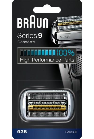Braun 9 Serisi Tıraş Makinesi Yedek Başlığı 92S (Gümüş)