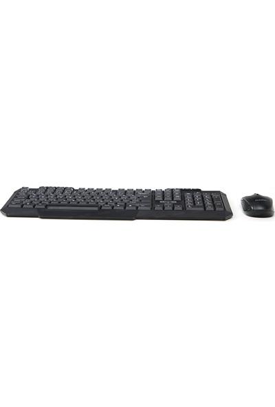 Dark KMW1010 Multimedia Butonlu Türkçe Q Kablosuz Klavye & Mouse Set (DK-AC-KMW1010)