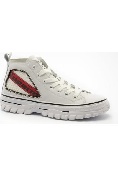 Kriste Bell Kadın Spor Ayakkabı K202 - 3008 Kriste Bell Kadın Spor Beyaz