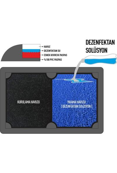 Olunca Yeni Nesil Islak - Kuru Dezenfektan Havuzlu Hijyen Paspas 50 x 80 cm