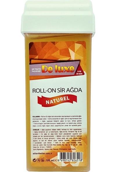 Deluxe Roll-On Sir Ağda Naturel 100 ml