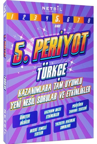 Netbil Yayınları 5. Sınıf Türkçe Periyot Etkinlikli Soru Bankası