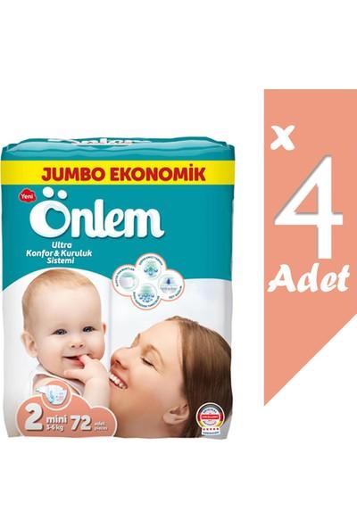 Önlem Jumbo Ekonomik Paket Bebek Bezi 2 Beden Mini 3-6 kg 288 Li