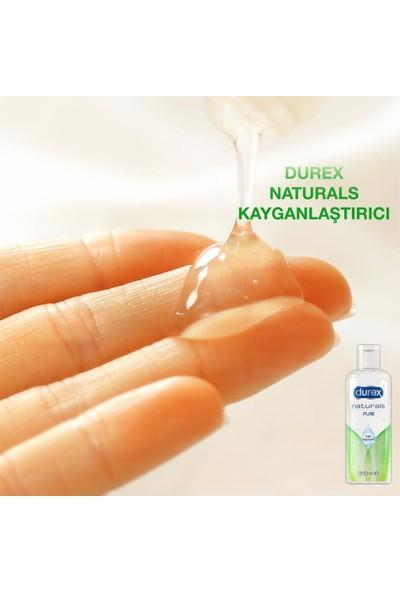 Durex Kayganlaştırıcı Jel Naturals 250 ml + Durex Intense Prezervatif 40'lı