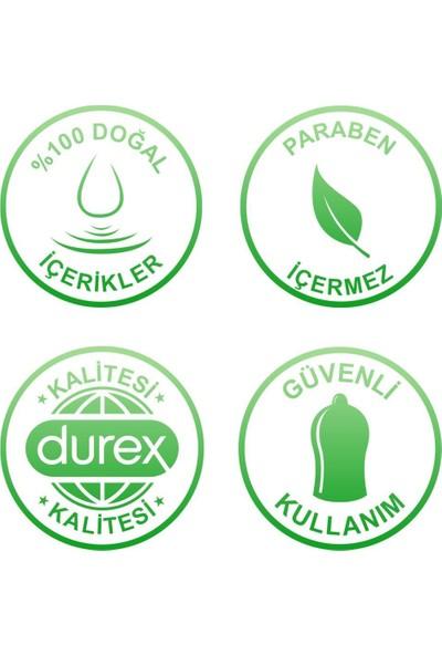 Durex Kayganlaştırıcı Jel Naturals 250 ml + Durex Kayganlaştırıcı Jel Hisset 250 ml