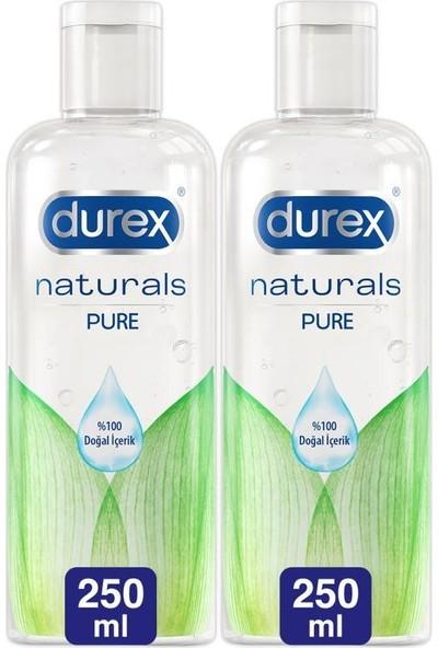 Durex Kayganlaştırıcı Jel Naturals 250 ml x 2 Adet