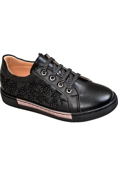 Kaptan Junior Kız Çocuk Günlük Ayakkabı Pssk 660 Siyah
