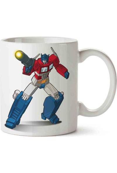 Art Hediye Optimus Prime Transformers Kupa Bardak