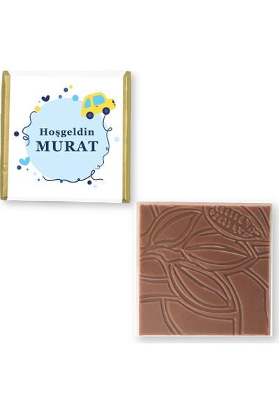 Valonia Dila Çikolata Erkek Bebek Çikolatası (50 Madlen ve Draje)