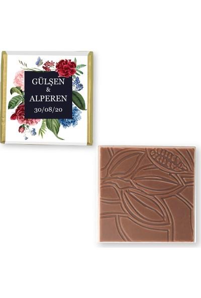 Pelit Valonia Dila Çikolata Söz Nişan Çikolatası (100 Madlen)