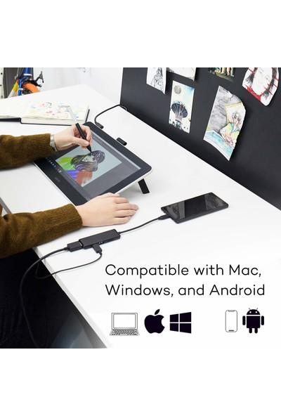 "Wacom One 13.3"" Ekranlı Dijital Çizim Tableti DTC133W0A (Yurt Dışından)"