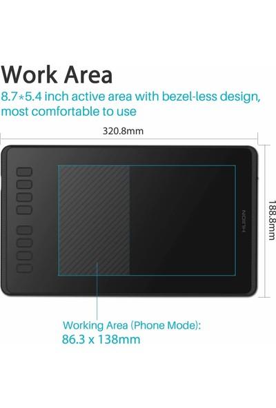 Huion Inspiroy H950P Grafik Tablet 8192 (Yurt Dışından)