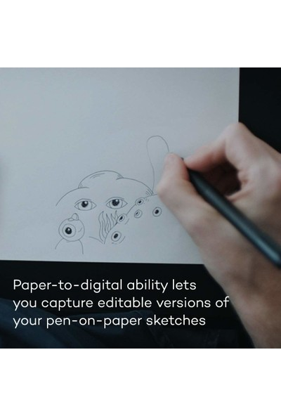 Wacom Intuos Pro Paper Edition Grafik Tablet Medium (PTH660P) (Yurt Dışından)