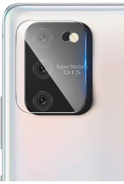 Happyshop Samsung Galaxy Note 10 Lite A81 Kamera Koruma Cam Ekran Koruyucu Şeffaf