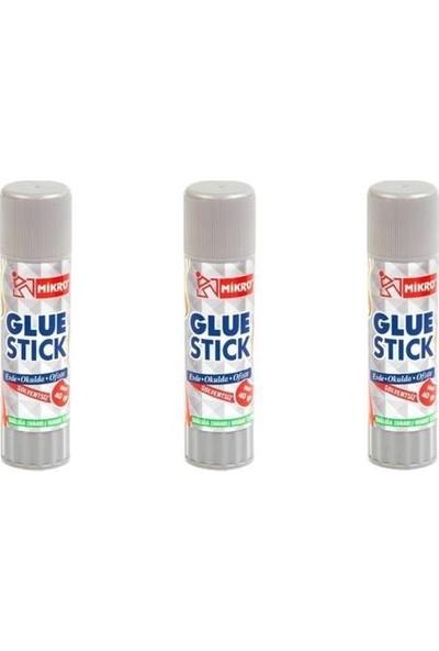 Mikro Stick Yapıştırıcı 3 Adet 40 Gr. ( 3 Adet )