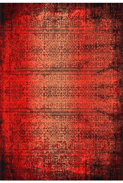 Apree Home Mistik Kırmızı, Kaymaz Dod Tabanlı, Makinada Yıkanabilir Halı 80 x 140 cm